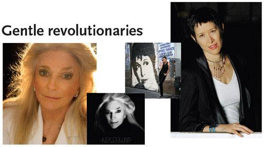 Judy Collins & Michelle Shocked: Gentle Revolutionaries