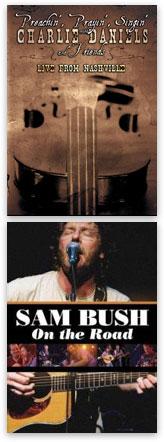Charlie Daniels & Sam Bush albums