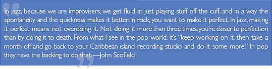 John Scofield quote