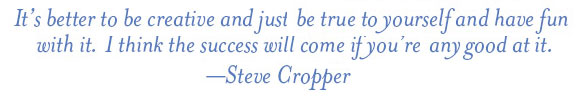 Steve Cropper quote