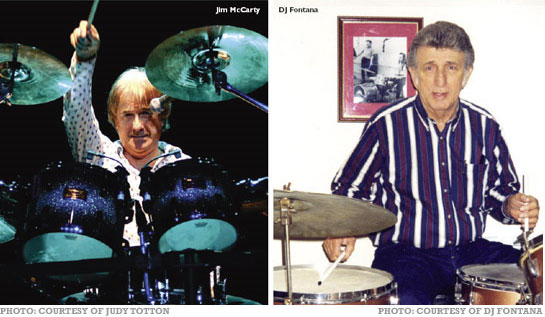 Jim McCarty & DJ Fontana: Different Drums