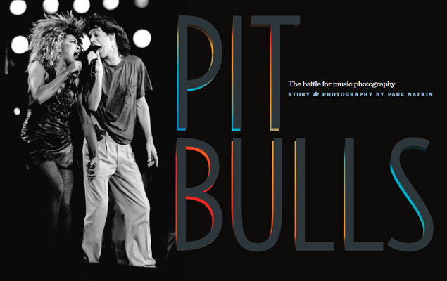 Pit Bulls: The Battle For Music Photography