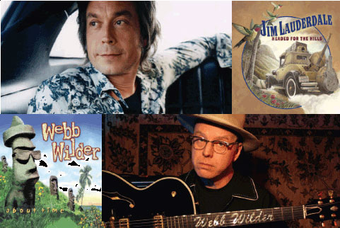 Jim Lauderdale & Webb Wilder Tell Us Where They're Coming From