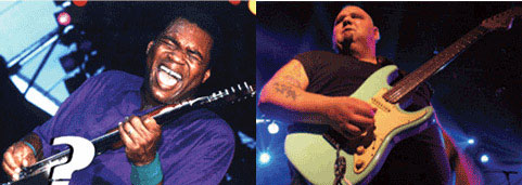 Robert Cray & Popa Chubby Tell Us Who Got Them Where They Are Today