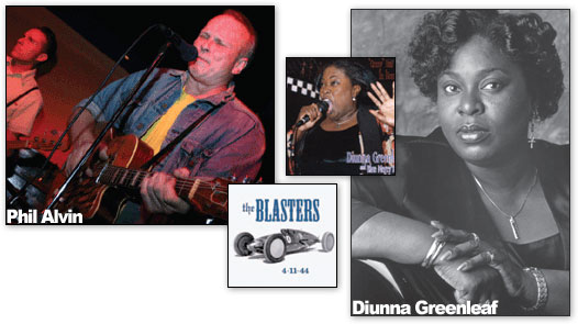 Diunna Greenleaf & Phil Alvin: Trunks, Roots, and a Greenleaf