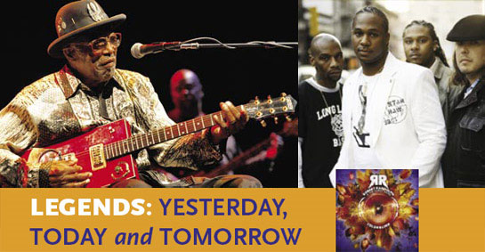 Bo Diddley & Robert Randolph: Legends: Yesterday, Today and Tomorrow