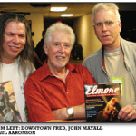 From left: Downtown Fred, John Mayall & Paul Aaronson