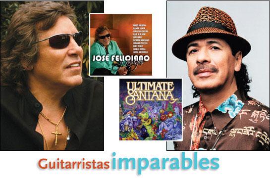 Jose Feliciano & Carlos Santana: Guitarristas Imparables