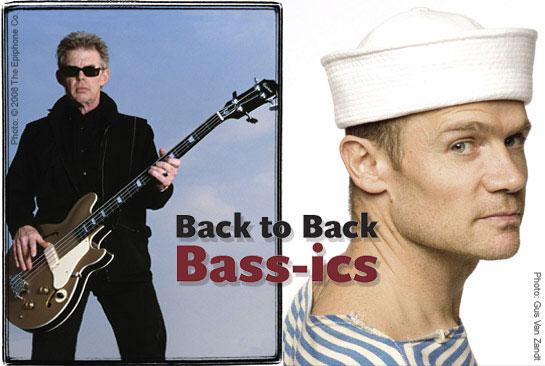 Jack Casady & Flea: Back to Back Bass-ics