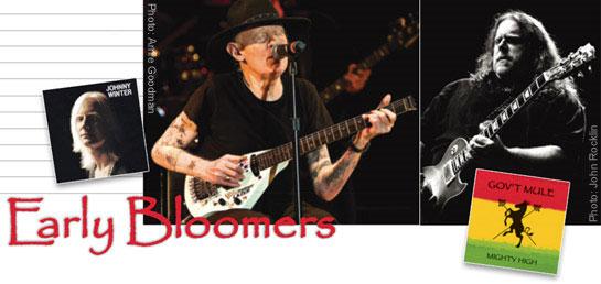 Johnny Winter & Warren Haynes: Early Bloomers