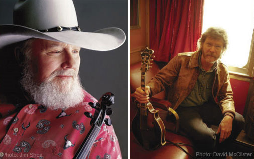 Charlie Daniels & Sam Bush: String Men: Pickin' and Bowin' on New Ground