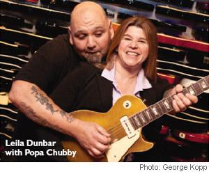 Leila Dunbar & Popa Chubby
