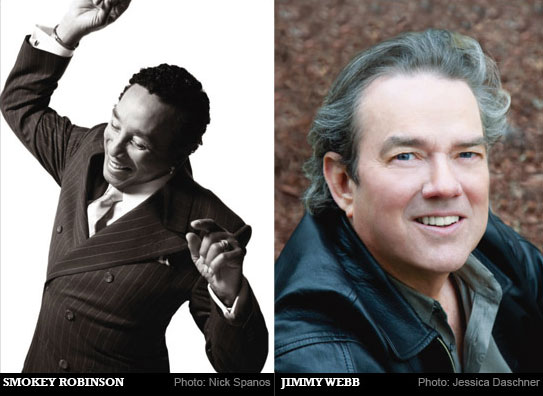 Influences: Smokey Robinson & Jimmy Webb