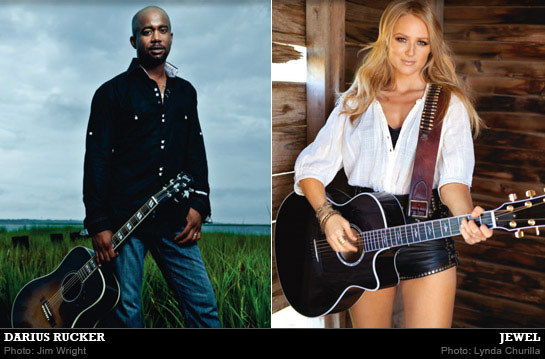 Darius Rucker & Jewel: Quality Time In The Country