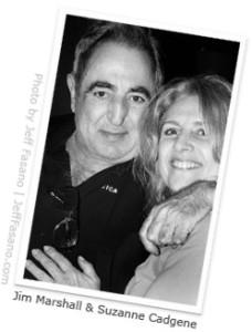 Jim Marshall & Suzanne Cadgene