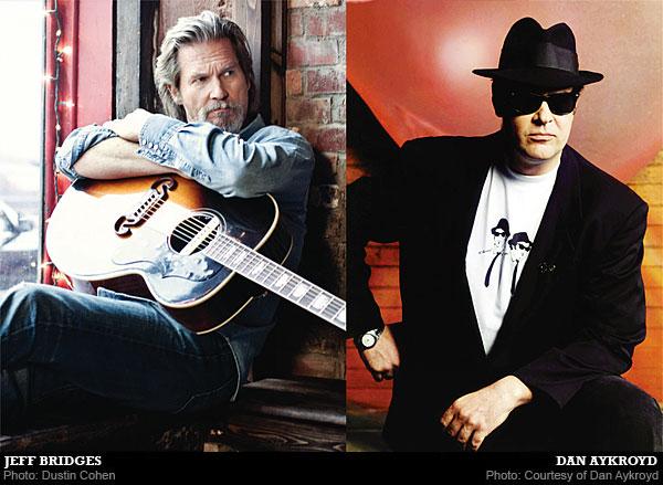 Influences: Jeff Bridges & Dan Aykroyd