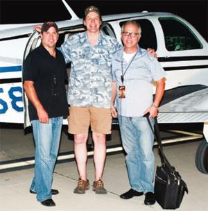 Pilot Joe Jordan, Ted Nugent, Bob Quandt
