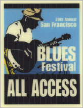 SF Blues Festival Pass