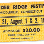 Powder Ridge Festival Ticket