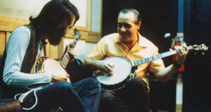John McEuen and Earl Scruggs