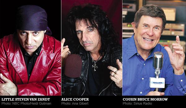 Influences: Little Steven Van Zandt, Alice Cooper and Cousin Bruce Morrow