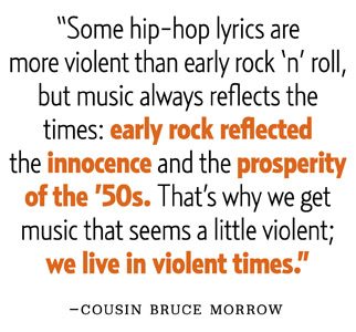 May 2012 Influences Cousin Bruce Morrow pullquote