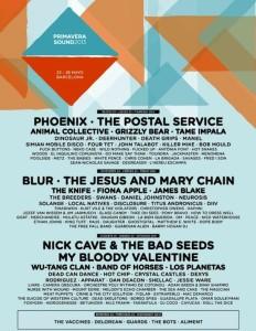 Primavera Sound Festival Nick Cave Blur