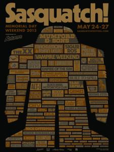 Sasquatch Music Festival 2013 Mumford & Sons