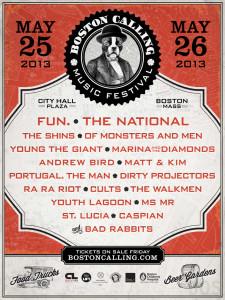 Boston Calling Festival fun. The National