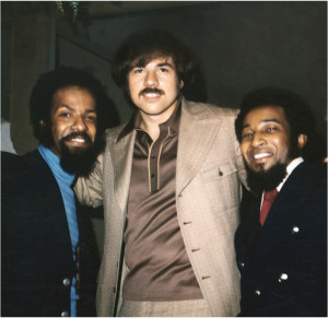 Deke Richards (center) with Alphonzo Mizell and Freddie Perren