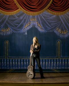 Cindy Cashdollar lap steel guitars