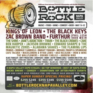 Bottle Rock 2013 festival