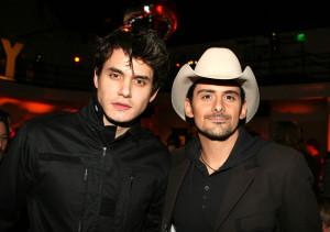 John Mayer Brad Paisley ACM Awards