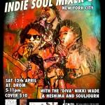 Indie Soul Mixer Drom NYC