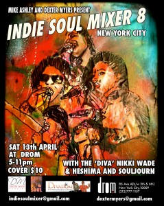 Indie Soul Mixer Drom NYC