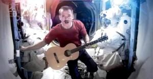 Chris Hadfield Space Oddity music video