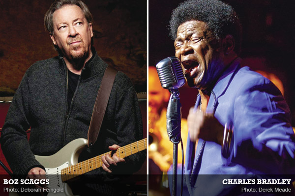 Boz Scaggs and Charles Bradley: Soulful Men