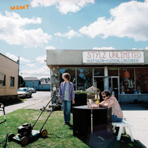 MGMT self-titled album