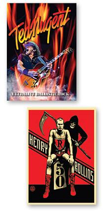 Ted Nugent & Henry Rollins