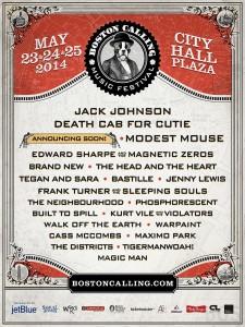 Boston Calling 2014 Lineup