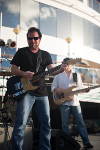 Clay McClinton on the Sandy Beaches Cruise. Photo by Laura Carbone