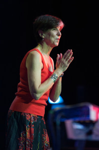Marcia Ball at the Sandy Beaches Cruise. Photo by Laura Carbone