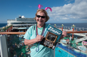 Pat Grice Elmore magazine Sandy Beaches cruise