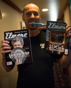 Paul Thorn with a few copies of his favorite magazine. Photo by Laura Carbone