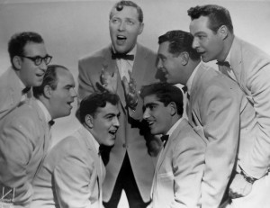 Bill Haley and the Comets, 1956. Franny Beecher is on the far right.