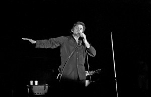 Johnny Cash in 1972. Photo by Heinrich Klaffs.