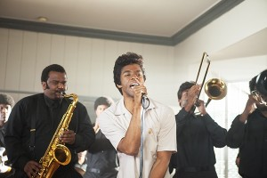 Chadwick Boseman will play James Brown in the upcoming biopic Get On Up. Photo by D. Stevens/Universal Pictures