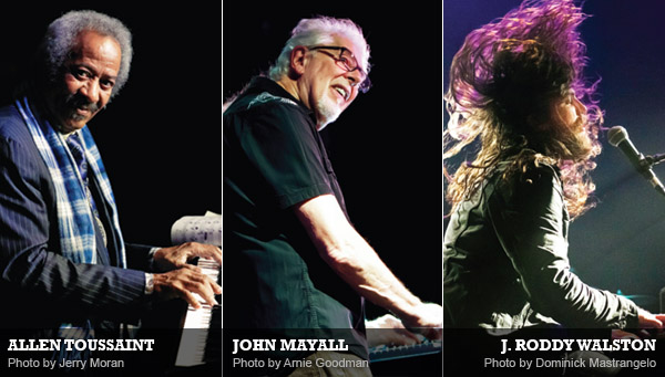 Allen Toussaint, John Mayall & J. Roddy Walston: Piano Triplets