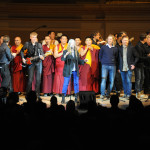 "The 24th Annual Tibet House US Benefit COncert ended with a collaborative version of ""People Have the Power."" Photo by Tracy Ketcher"