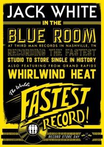 Jack White World's Fastest Single